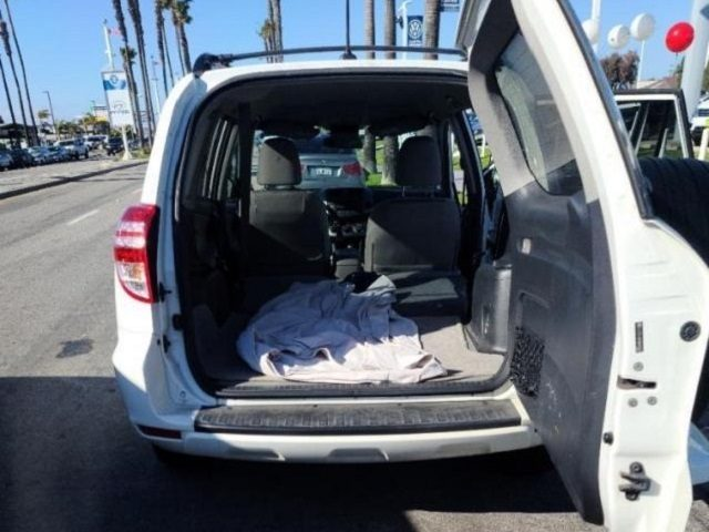 Border Patrol agents arrest the driver of a Toyota SUV involved in an alleged human smuggling event in Southern California. (Photo: U.S. Border Patrol/San Diego Sector)