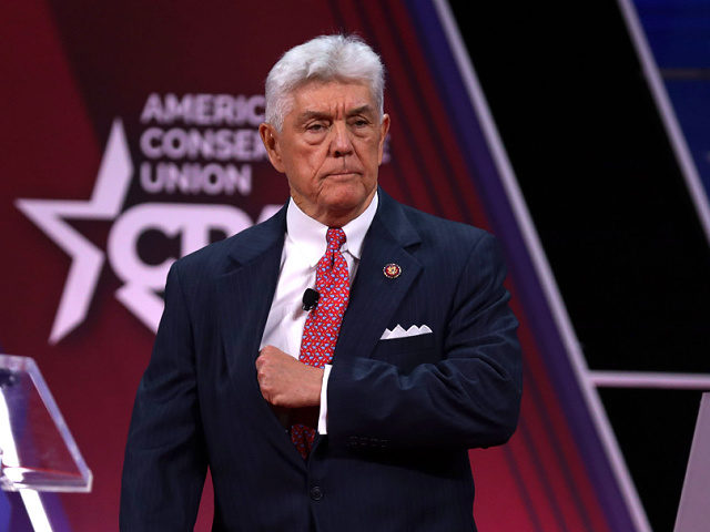 NATIONAL HARBOR, MARYLAND - FEBRUARY 27: U.S. Rep. Roger Williams (R-TX) arrives to speak at the annual Conservative Political Action Conference (CPAC) at Gaylord National Resort & Convention Center February 27, 2020 in National Harbor, Maryland. Conservatives gather at the annual event to discuss their agenda. (Photo by Alex Wong/Getty …