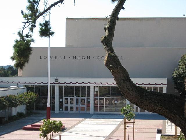 Lowell High School San Francisco (Wikimedia Commons)