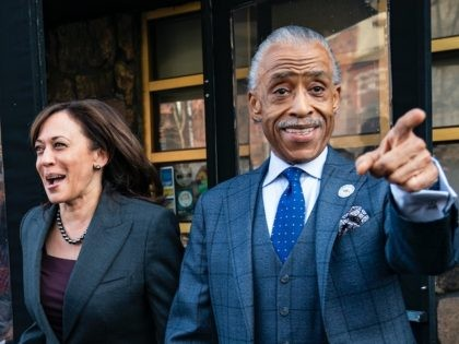 Al Sharpton: Kamala Harris 'Is Now Living Black History'