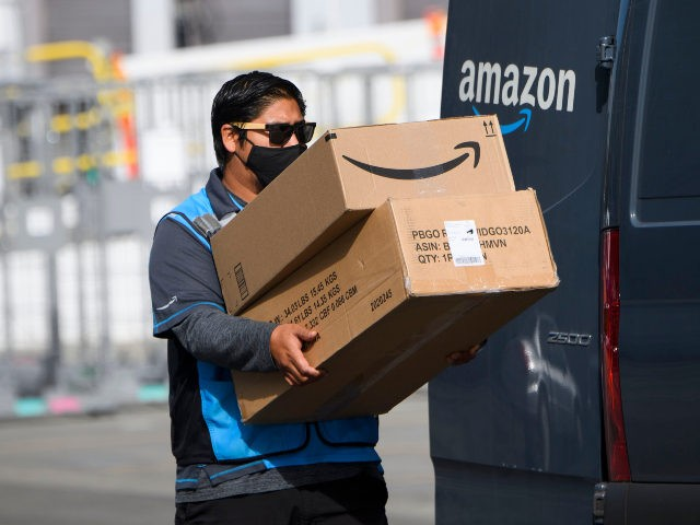FTC says Amazon took away $62 million in tips from drivers