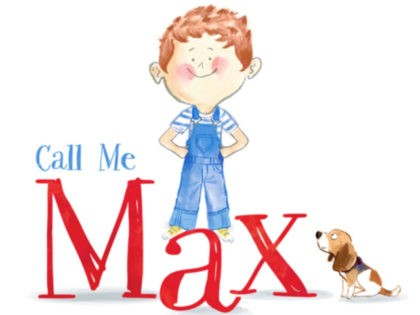 Call Me Max Book Cover Illustration