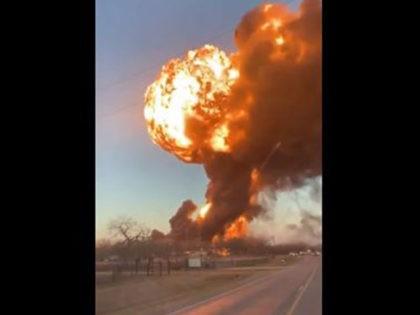 truck explosion