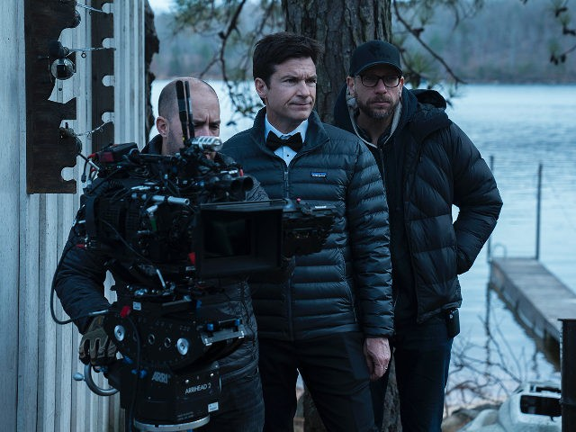 Jason Bateman, Benjamin Semanoff, and Ben Kutchins in Ozark (2017)