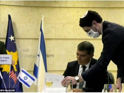 Diplomatic Signing Between Israel and Kosovo