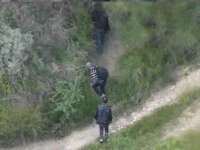Border Patrol Drones Spot Migrants Crossing Border into Texas