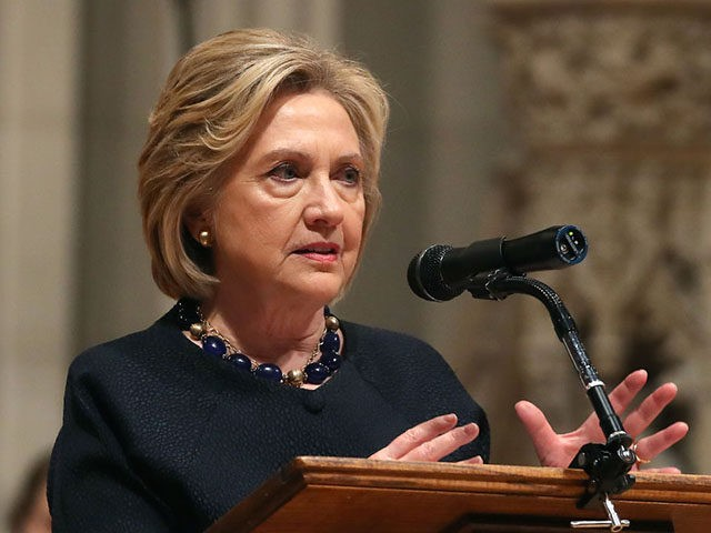 Hillary Clinton Declares 'Shameless' Republicans Are 'Gun Worshipers'