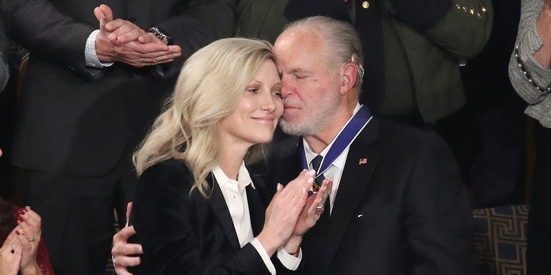 Listen: Rush Limbaugh Wife Kathryn Makes Statement on Husband's Passing