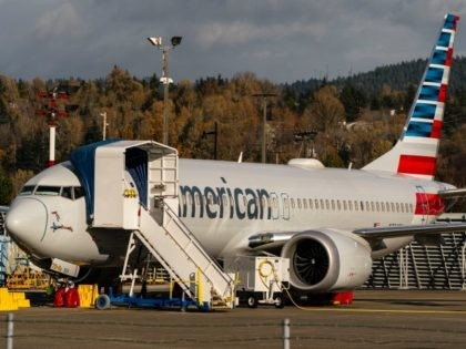 RENTON, WA - NOVEMBER 13: A Boeing 737 Max airplane sits parked at the company's Renton production facility on November 13, 2020 in Renton, Washington. Boeing has announced new cancellations of orders of the plane as it readies for approval to fly it again. (Photo by David Ryder/Getty Images)