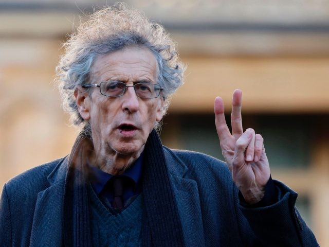 Piers Corbyn, brother of Jeremy Corbyn, the former leader of Britain's opposition Labour party, arrives at Westminster Magistrates court in central London on November 27, 2020. - Piers is accused of attending anti-lockdown and anti vaccine protests at Hyde Park during the first coronavirus COVID-19 lockdown period. (Photo by Tolga …