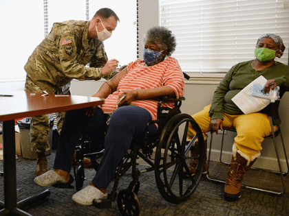 Texas National Guard to Give Coronavirus Vaccines to Homebound Seniors