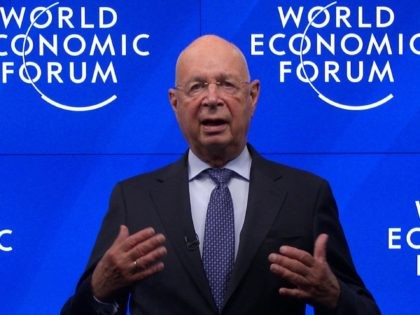 BERLIN, GERMANY - SEPTEMBER 16: In this screengrab, Klaus Schwab speaks as part of SWITCH GREEN during day 1 of the Greentech Festival at Kraftwerk Mitte aired on September 16, 2020 in Berlin, Germany. The Greentech Festival is the first festival to celebrate green technology and to accelerate the shift …