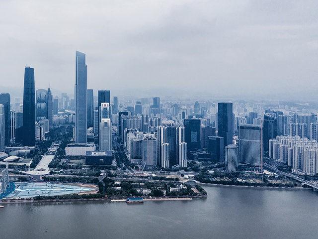 Skyline Of Guangzhou