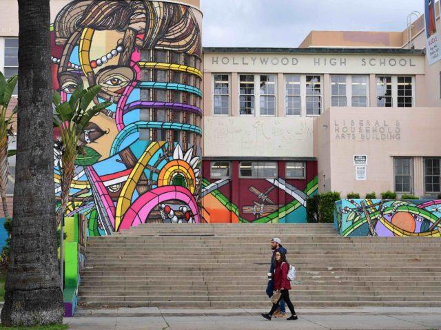 Hollywood High School (Frederic J. Brown / Getty)