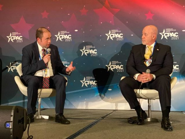 Watch Live: Breitbart's Matt Boyle Moderates Law Enforcement Panel at CPAC