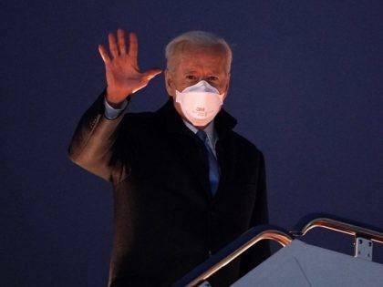 Joe Biden waves (Mandel Ngan / Getty)