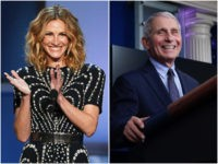 Julia Roberts Presents 'Award of Courage' to her 'Personal Hero' Fauci