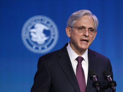 WILMINGTON, DELAWARE - JANUARY 07: Federal Judge Merrick Garland delivers remarks after being nominated to be U.S. attorney general by President-elect Joe Biden at The Queen theater January 07, 2021 in Wilmington, Delaware. Garland, who serves as a judge of the U.S. Court of Appeals for the District of Columbia …