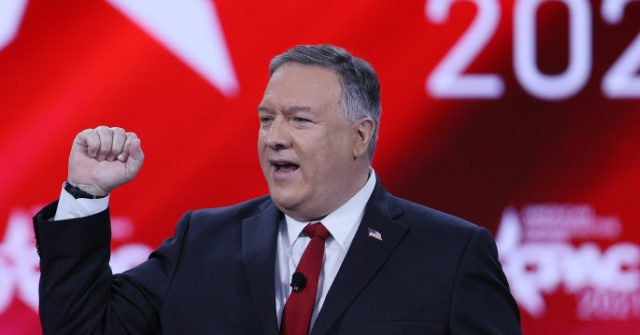 Former Secretary of State Mike Pompeo blasted the