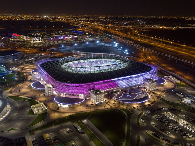 DOHA, QATAR - DECEMBER 18: In this handout image provided by Qatar 2022/Supreme Committee, Qatar inaugurates fourth FIFA World Cup 2022 venue, Ahmad Bin Ali Stadium on December 18th, 2020 in Doha, Qatar. Qatar inaugurates fourth FIFA World Cup 2022™ venue, Ahmad Bin Ali Stadium, in front of 50% capacity …