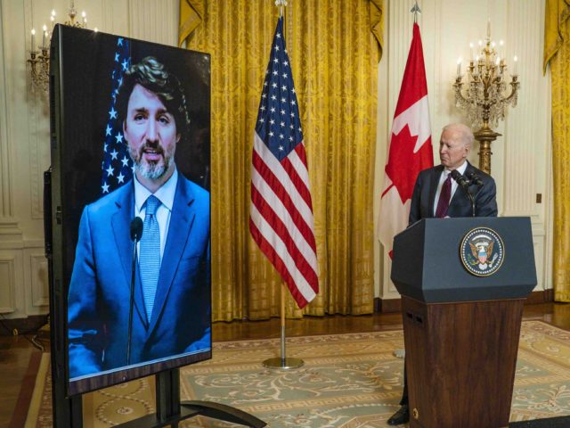 Trudeau Biden (Pete Marovich-Pool / Getty)