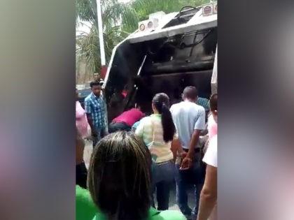 Venezuelan garbage truck