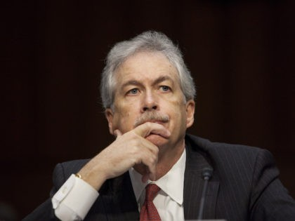 This 2012 file photo shows William Burns during the Senate Foreign Relations Committee hearing on the September 11th attacks on the U.S. Consulate in Benghazi, on Capitol Hill, Washington, DC. (Drew Angerer/Getty Images)
