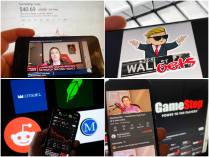 "Photo by: STRF/STAR MAX/IPx 2021 2/18/21 Keith Gill testifies at GameStop congressional hearing. STAR MAX Photo: GamesStop, Robinhood logos and Keith Gill on the CNBC App. photographed on multiple Apple devices. Photo by: STRF/STAR MAX/IPx 2021 2/17/21 Keith Patrick Gill, aka,""Roaring Kitty"" aka ""u/DeepFuckingValue"" is being sued for his role …"