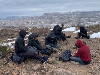 Big Bend Sector Border Patrol agents rescued numerous migrants from freezing conditions near the Texas border. (Photo: U.S. Border Patrol/Big Bend Sector)