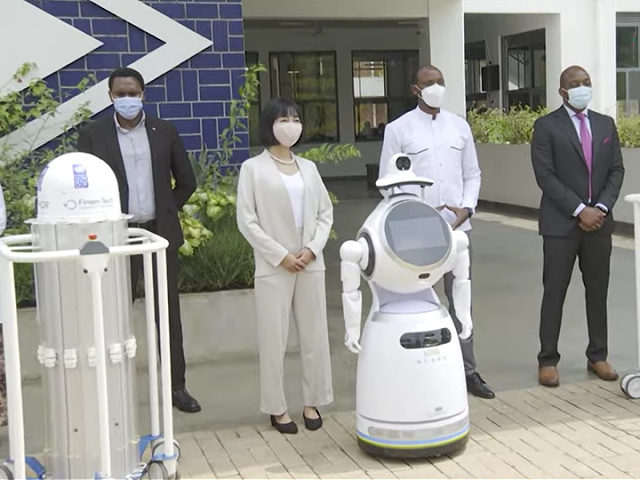 Rwanda Deploys Robots to Disinfect Hospitals Treating Coronavirus