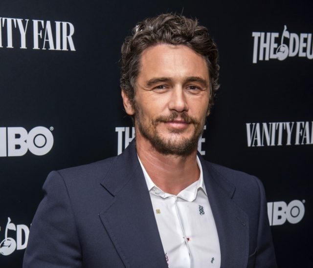 "This Sept. 5, 2019 file photo shows James Franco at the premiere of HBO's ""The Deuce"" third and final season in New York. A settlement deal has been reached in a lawsuit that alleged James Franco intimidated students at an acting and film school he founded into exploitative sexual situations. …"