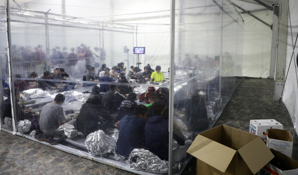 UAC Holding Facility Photos: Photo: U.S. Customs and Border Protection