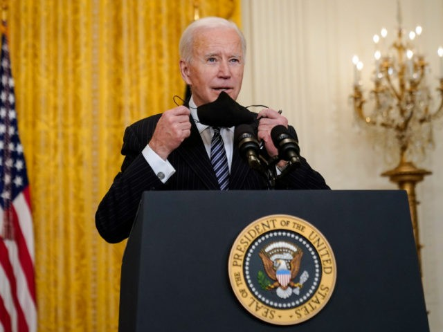 US to hit 100 million vaccine target on Friday, says Joe Biden