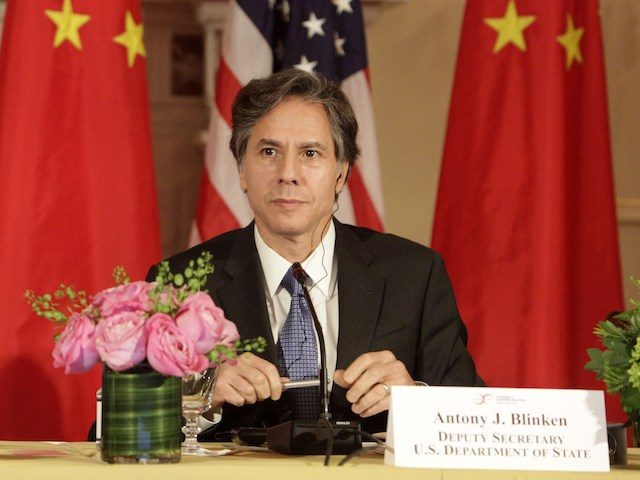 US Deputy Secretary of State Anthony Blinken attends the Plenary Session of the US-China Consultation on People-to-People Exchange during the seventh US-China Strategic and Economic Dialogue at the US State Department in Washington DC, June 24, 2015. (Chris Kleponis/AFP via Getty Images)