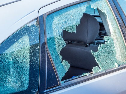 Vandalism car window