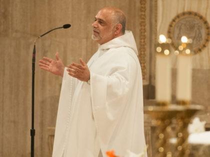 Catholic U of America Chaplain Jude DeAngelo