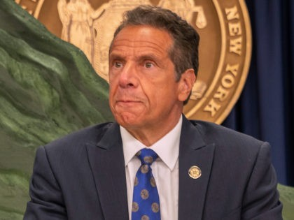 New York Governor Andrew Cuomo speaks during a COVID-19 briefing on July 6, 2020 in New York City. (David Dee Delgado/Getty Images)