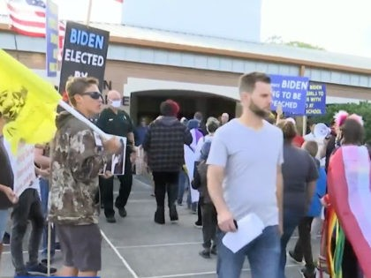 Demonstration over School Guidelines