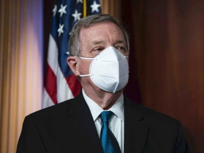 Dick Durbin mask (Al Drago / Getty)