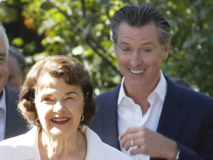 Feinstein and Newsom (Rich Pedroncelli / Associated Press)