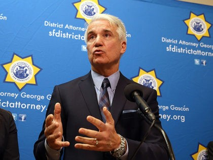 SAN FRANCISCO, CA - DECEMBER 09: San Francisco district attorney George Gascon speaks during a new conference to announce a civil consumer protection action against rideshare company Uber on December 9, 2014 in San Francisco, California. Gascon, along with Los Angeles district attorney Jackie Lacey, announced the filing of a …