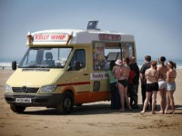 Testimony of Man Arrested for Eating an Ice Cream on the Beach