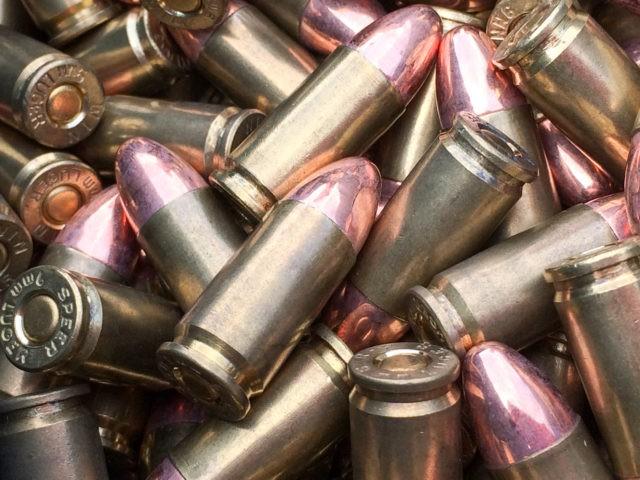 Bullets 9mm caliber luger speer for handgun firearm pistol ammo
