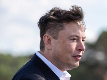FUERSTENWALDE, GERMANY - SEPTEMBER 03: Tesla head Elon Musk arrives to have a look at the construction site of the new Tesla Gigafactory near Berlin on September 03, 2020 near Gruenheide, Germany. Musk is currently in Germany where he met with vaccine maker CureVac on Tuesday, with which Tesla has …