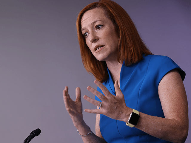 Jen Psaki Interrupts Vacation to Brief Press on Afghanistan Disaster