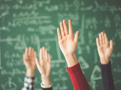 classroom hands