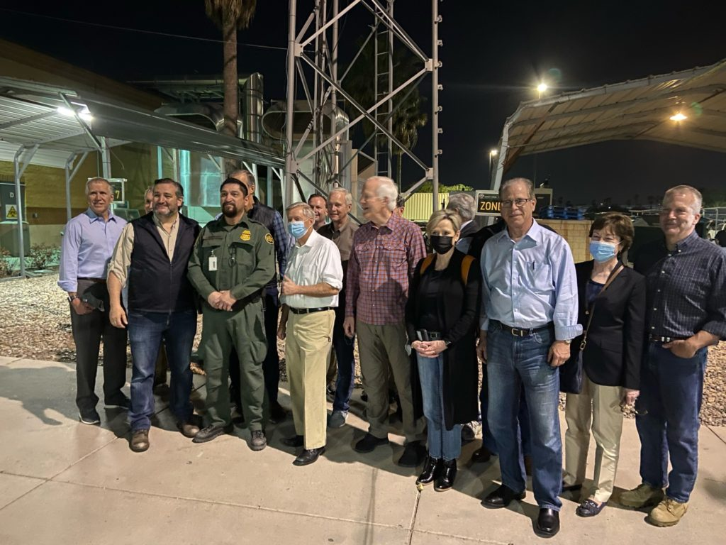 GOP Senate delegation travels to southern border
