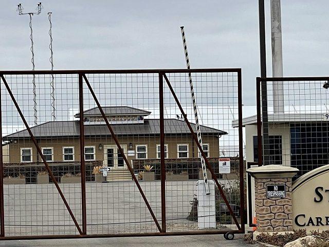 HHS ORR Shelter for unaccompanied alien children in Carrizo Springs, Texas. (Photo: Randy Clark/Breitbart Texas)