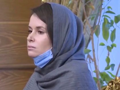 In this frame grab from Iranian state television video aired Wednesday, Nov. 25, 2020, British-Australian academic Kylie Moore-Gilbert is seen in Tehran, Iran. Iran has freed Moore-Gilbert, who has been detained in Iran for more than two years, in exchange for three Iranians held abroad, state TV reported Wednesday. (Iranian …