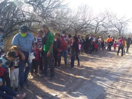 Rio Grande Valley Sector Border Patrol agents continue to apprehend large group of migrant families during the Biden border crisis. (Photo: U.S. Border Patrol/Rio Grande Valley Sector)